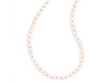 Chisel 8mm 42in Pink Simulated Pearl Cord Necklace style: SRN177242