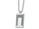 Chisel Stainless Steel Mesh Necklace - 24 inches style: SRN177