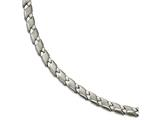 Chisel Stainless Steel Brushed And Polished Necklace style: SRN183717