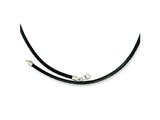 Chisel 3 Genuine Leather Greece Textured Necklace - 18 inches
