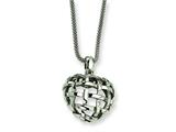 Chisel Stainless Steel Pendant Necklace - 18 inches style: SRN242