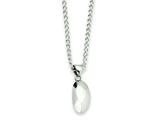 Chisel Stainless Steel Pendant Necklace - 18 inches style: SRN271