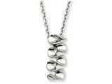 Chisel Stainless Steel Pendant 18in Necklace style: SRN27218