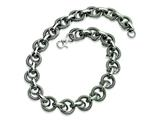 Chisel Stainless Steel Fancy Link Necklace - 22 inches style: SRN348