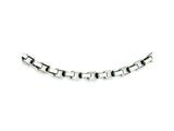 Chisel Stainless Steel Link Necklace - 22 inches