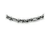 Chisel Stainless Steel Fancy Link Necklace - 18 inches