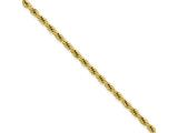 Chisel Stainless Steel Ip Yellow-plated 2.3mm 24in Rope Chain style: SRN672GP24