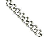 Chisel Stainless Steel 13.75mm 8.5in Curb Chain style: SRN69385