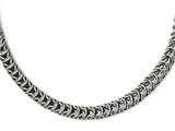 Chisel Stainless Steel Fancy 18in Necklace style: SRN94718