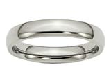 Chisel Titanium 4mm Polished Weeding Band style: TB21