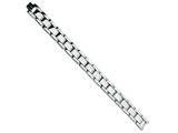 Chisel Titanium Polished Bracelet - 8.5 inches