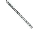 Chisel Titanium Brushed and Polished Bracelet - 8.75 inches