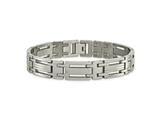 Chisel Titanium Polished Bracelet - 8.75 inches style: TBB115
