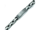 Chisel Titanium Brushed ID Bracelet - 8.75 inches