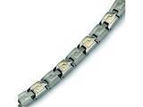 Chisel Titanium 14k Inlay Bracelet - 8.5 inches style: TBB124