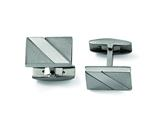 Chisel Titanium Cuff Links