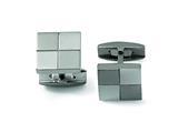 Chisel Titanium Cuff Links style: TBC101