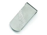 Chisel Titanium Pebble Textured Money Clip style: TBM100