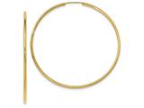 14k Endless Hoop Earrings style: TF802