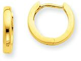 14k 2.25mm Hinged Hoop Earrings style: TL153