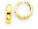 14k Hinged Hoop Earrings style: TM609