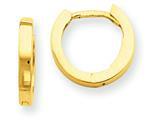 14k Hinged Hoop Earrings style: TM619