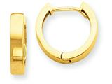 14k Hinged Hoop Earrings style: TM622