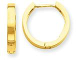 14k Hinged Hoop Earrings style: TM624