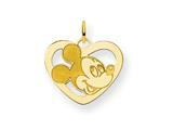 Disney Mickey Heart Charm style: WD101GP