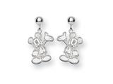 Disney Waving Mickey Dangle Post Earrings style: WD105W
