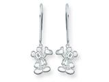 Disney Waving Mickey Dangle Wire Earrings style: WD106W