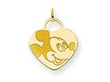 Disney Mickey Heart Charm style: WD110GP