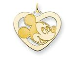 Disney Mickey Heart Charm style: WD112GP