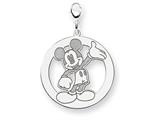 Disney Waving Mickey Lobster Clasp Charm style: WD113SS