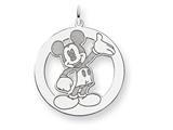 Disney Waving Mickey Charm style: WD114SS