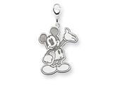Disney Waving Mickey Lobster Clasp Charm style: WD115W