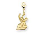 Disney Pluto Lobster Clasp Charm style: WD124GP
