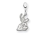Disney Pluto Lobster Clasp Charm style: WD124SS