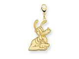 Disney Pluto Lobster Clasp Charm