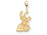 Disney Pluto Lobster Clasp Charm style: WD126Y
