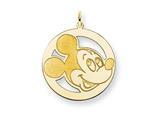 Disney Mickey Round Charm style: WD128GP