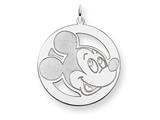 Disney Mickey Round Charm style: WD128SS