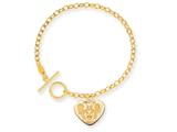 Disney 7.5inch Minnie Heart Charm Bracelet