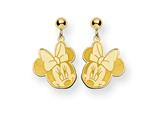Disney Minnie Dangle Post Earrings style: WD130GP