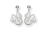 Disney Minnie Dangle Post Earrings style: WD130SS