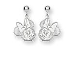 Disney Minnie Dangle Post Earrings style: WD130W