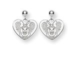 Disney Minnie Dangle Post Earrings style: WD132W