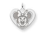 Disney Minnie Heart Charm style: WD134SS