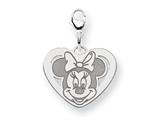Disney Minnie Heart Lobster Clasp Charm style: WD135SS