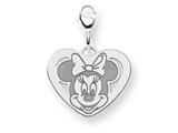 Disney Minnie Heart Lobster Clasp Charm style: WD135W